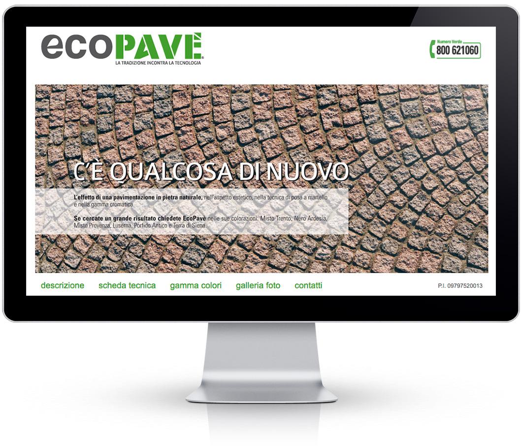 Cubetti di pietra ricostruita Ecopavè